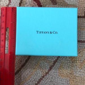 "Tiffany Small Storage Gift box approx 3"" x 3.75"""